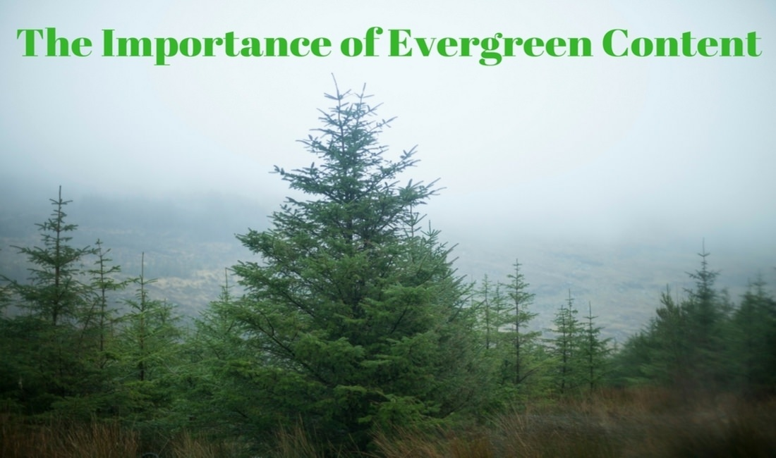 What makes evergreen content important?