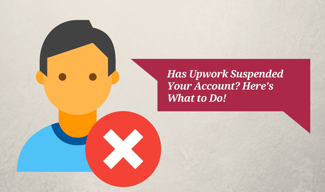 What to do about an Upwork suspension