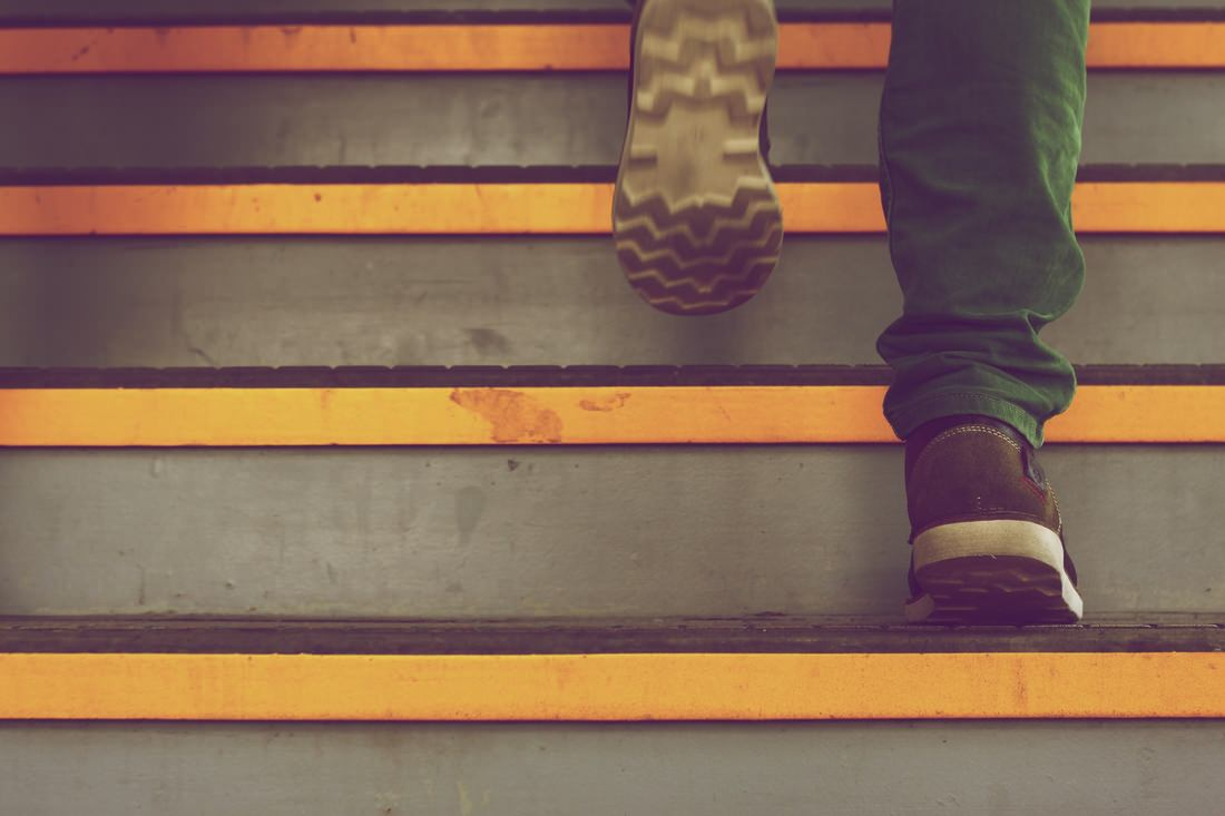 Shoes and steps